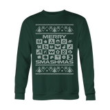 Merry Smashmas Xmas Sweater LIMITED EDITION