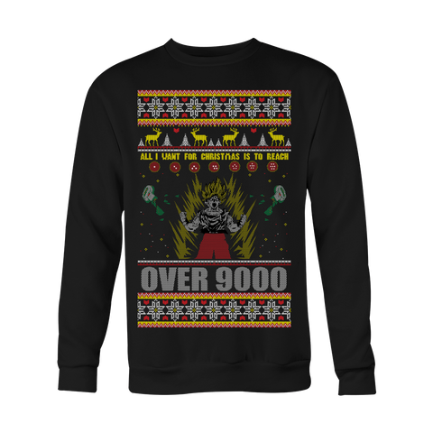 Shop DBZ Ugly Xmas Sweaters: Xmas Sweater | anime, christmas, dbz ...