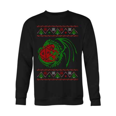 Dragon Die Christmas Sweater LIMITED EDITION