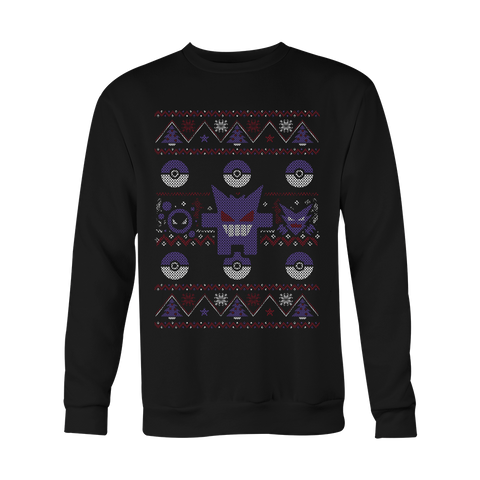 Ghost Type Xmas Sweater LIMITED EDITION