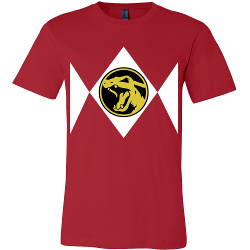 Red Poke Ranger Charizard Tee Shirt