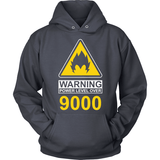 Warning Over 9000 LIMITED EDITION