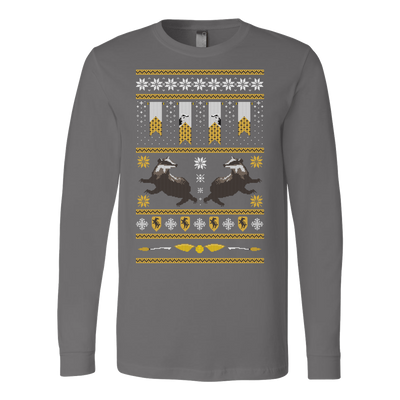 Hufflepuff Retro Xmas Sweater
