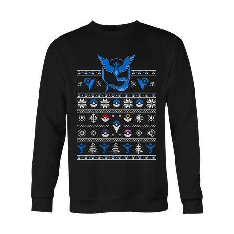 Team Mystic Retro Sweater LIMITED EDITION