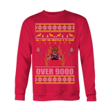 Over 9000 Ugly Xmas Sweater v2 LIMITED EDITION