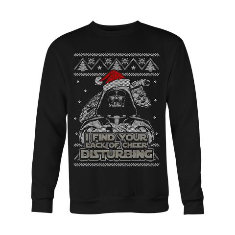 Lack of Cheer Ugly Xmas Sweater LIMITED EDITION