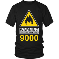 Warning Over 9000