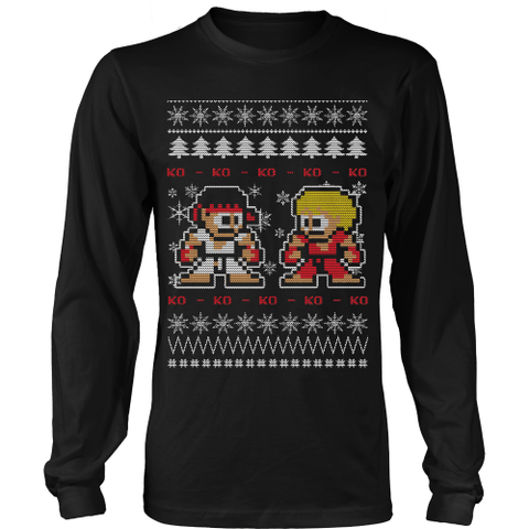 Shop Street Fighter UGLY XMAS SWEATERS: Xmas Sweater | christmas ...