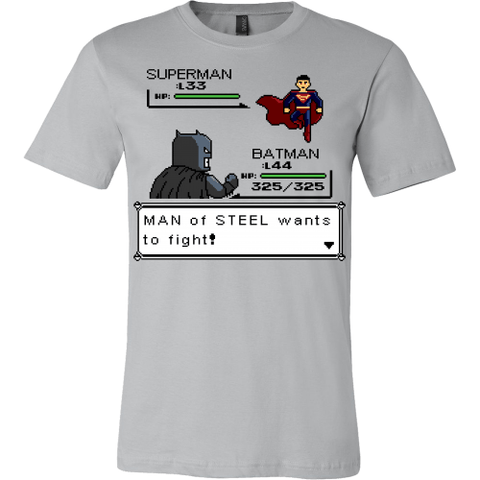 Man Of Steel Wants To Fight LIMITED EDITION