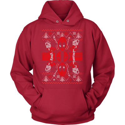 Deadpool Shot Xmas Sweater