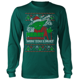 Wish You I Must Ugly Xmas Sweater LIMITED EDITION