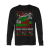 Wish You I Must Ugly Xmas Sweater