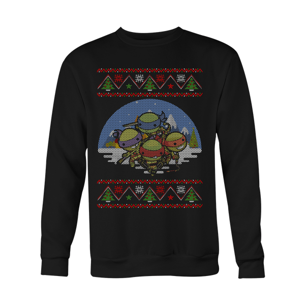 Chibi Turtles Christmas Sweater LIMITED EDITION
