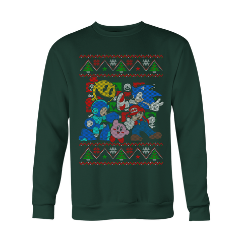 Super Smash Bros Ugly Christmas Sweater v2 LIMITED EDITION