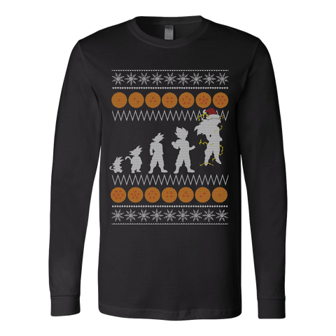 Goku Ugly Xmas Sweater LIMITED EDITION