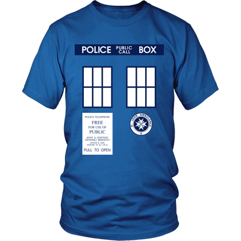 Tardis Shirt LIMITED EDITION