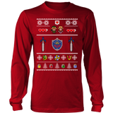 Shield Ugly Christmas Sweater LIMITED EDITION
