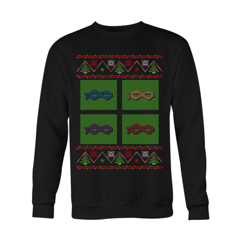Ninja Masks Christmas Sweater LIMITED EDITION