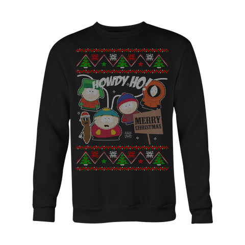 Howdy Ho Ugly Xmas Sweater LIMITED EDITION