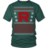 Team Rocket Xmas Sweater LIMITED EDITION