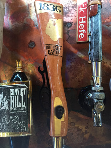 Buffalo Bayou Brewery 1836 Beer Tap Handle