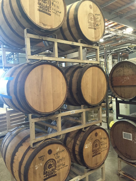 Ballast Point Barrels