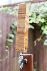Session Series Flame Birch Custom Tap Handle