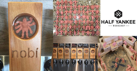 Half Yankee Workshop Creates Custom Tap Handles