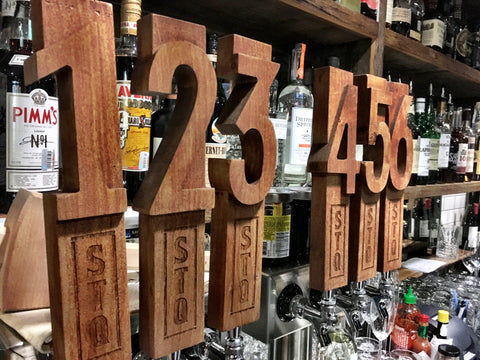 Custom Number Tap Handles
