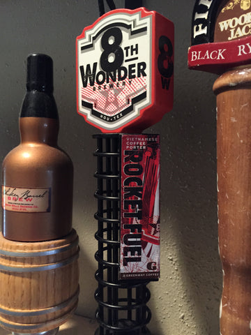 8th Wonder Brewery Rocket Fuel Beer Tap Handle
