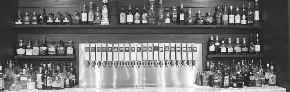 Bar with Custom Tap Handles