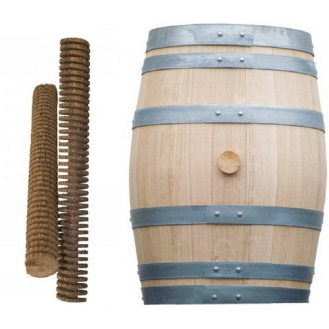 Oak Spirals and Barrel