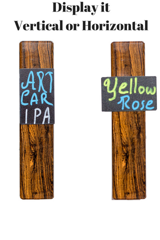 Tap Sign Chalkboard Tap Handles