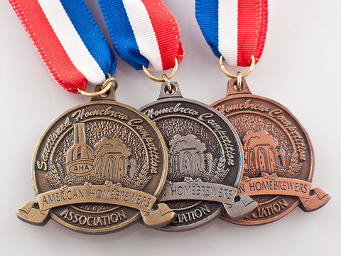 National Homebrew Competition Medals