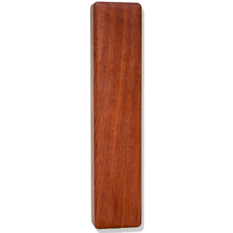 Bubinga Wood Beer Tap Handle Front View