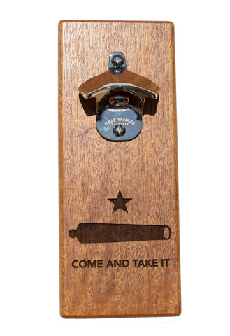 Wall Mounted Cap n' Catch Bottle Opener