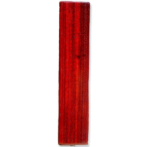 Padauk Wood Tap Handle Front View
