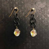 Golden Shadow Swarovski Earrings