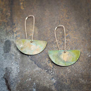 Autumn Patina Earrings