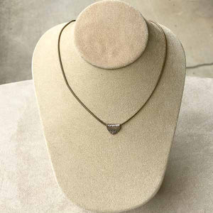 .999 Fine Silver Triad Necklace