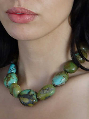 Turquoise Statement Necklace