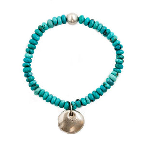 Turquoise & Silver Bracelet -