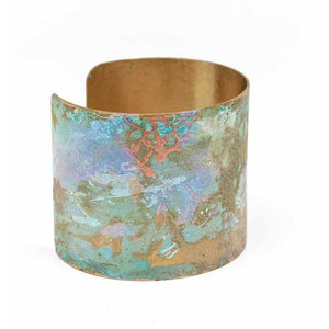 Iridescent Patina Cuff - Version 1