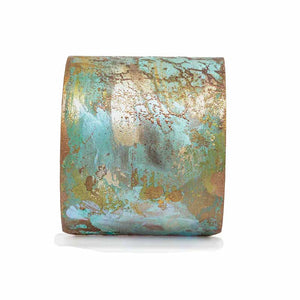 Iridescent Patina Cuff - Version 2