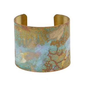 Iridescent Patina Cuff - Version 4