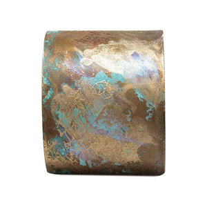 Iridescent Patina Cuff - Version 5