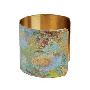 Iridescent Patina Cuff - Version 6