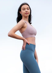 Charli Sports Bra - Light Blush