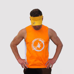 PBS Mens Paddle Tank - Orange