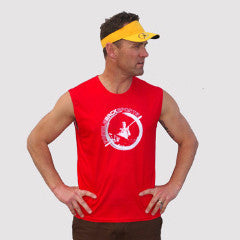 PBS Mens Paddle Tank - Red